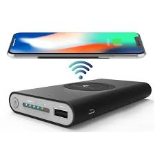 Carregador Wireless Sem Fio Qi Bateria PowerBank 10000mah CH0266 - Xtrad  - Northshop