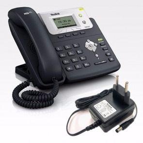 Telefone SEMI NOVO  Yealink SipT21P/E2  PoE -  fonte inclusa -   - Northshop São Paulo