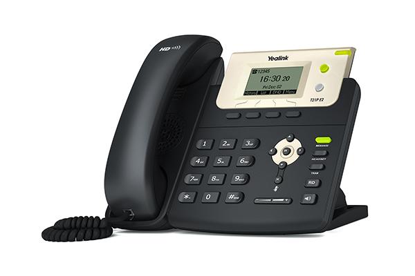 Telefone Ip Yealink SipT21P/E2  PoE   - Northshop São Paulo