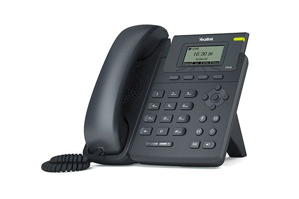 Telefone  T19 E2N - Yealink com fonte inclusa   - Northshop São Paulo