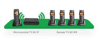 Telefone Ramal TS 60IPR  - Northshop São Paulo