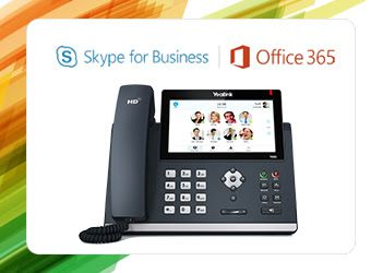 Telefone T46G - Skype for Business   IP Yealink  C/ Display SIP-  - Northshop