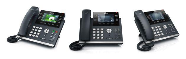 Telefone T46G - Skype for Business   IP YEALINK Giga C/ Display SIP-  - Northshop