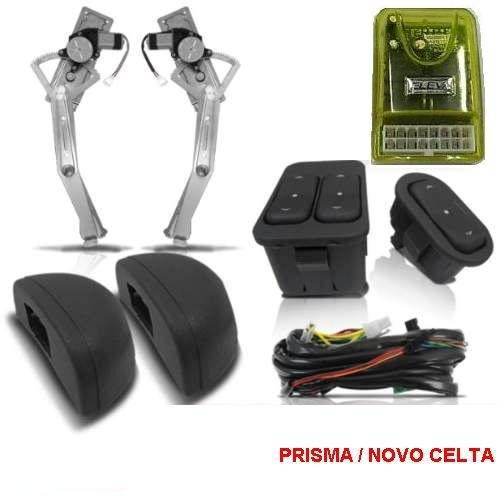 KIT VIDRO ELETRICO PRISMA OU CELTA  - Kit Vidro Elétrico | Vidro Elétrico