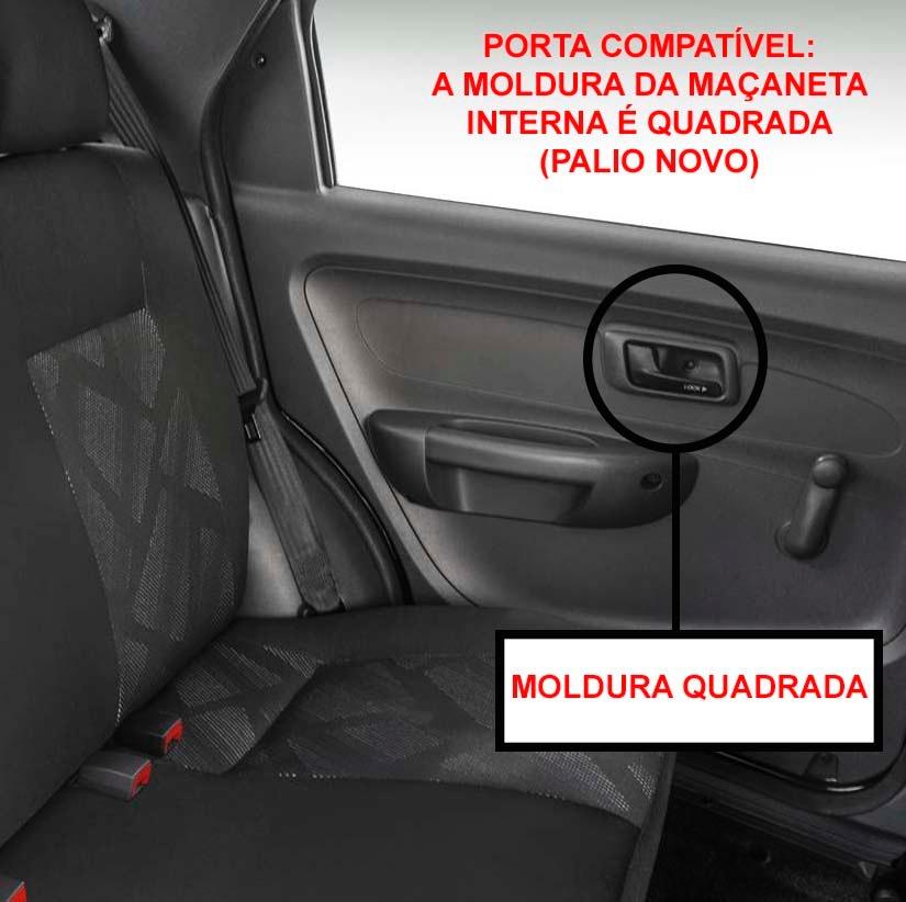 KIT VIDRO ELETRICO TRASEIRO PALIO G3  - Kit Vidro Elétrico | Vidro Elétrico