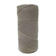 Cordão encerado fino bege (0072)- CD0F19 ATACADO