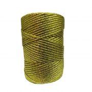 Lurex dourado grosso (10mts)- LX001