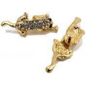Piercing Onça dourada (Par)- PID029