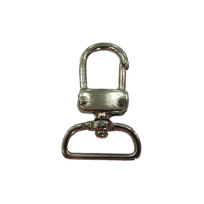 Mosquetão níquel V (2 unidades)- MN005