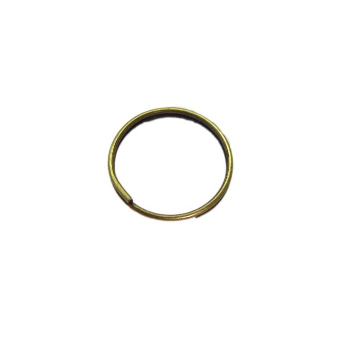 Argola de chaveiro lisa ouro velho sem corrente (1.000 unidades) - ARN004 ATACADO