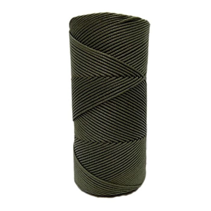 Cordão encerado fino musgo (5953) 10mts- CDF001