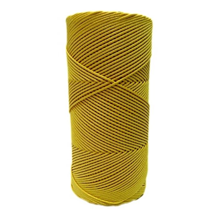 Cordão encerado fino castor (3322)10mts- CDF016