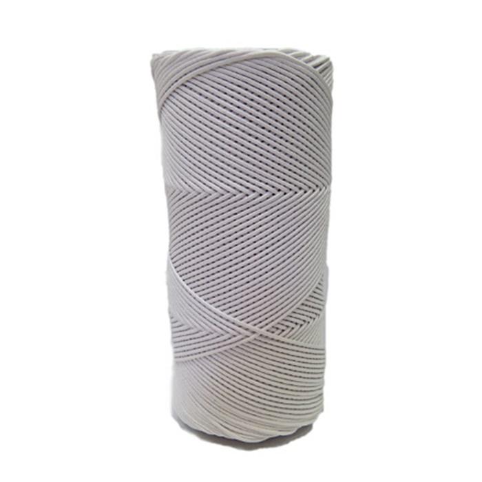 Cord�o encerado fino branco (0001) 10mts- CDF029