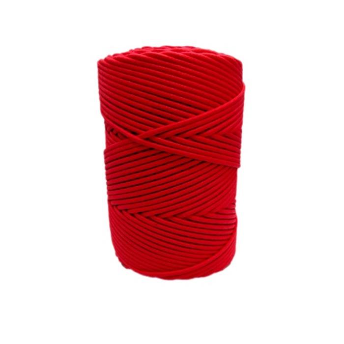 Cordão encerado grosso vermelho( 7716)- CDG003 ATACADO