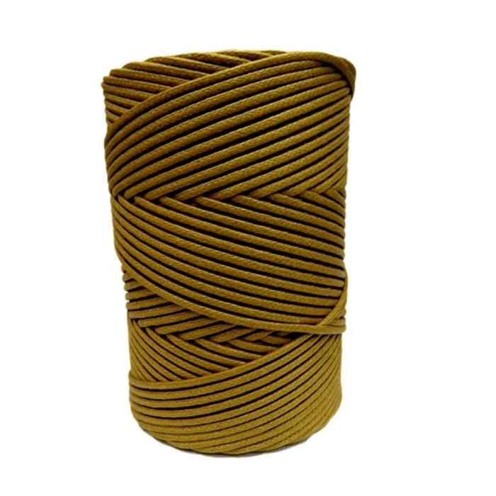 Cordão encerado grosso castor (3322) 10mts- CDG011