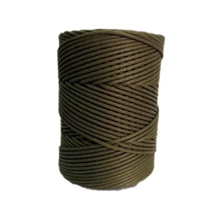 Cordão encerado grosso musgo (5953) 10mts- CDG030