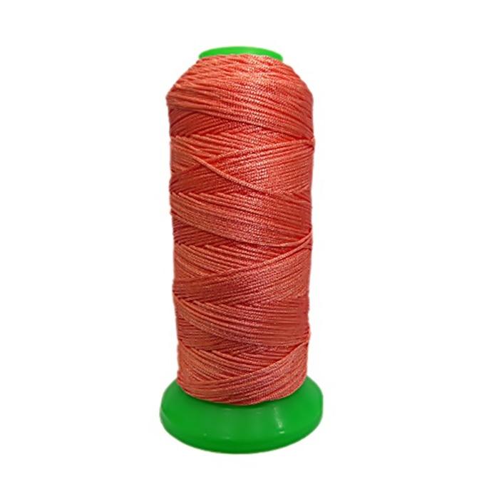 Cordão de seda fino salmão (10mts)- FS003