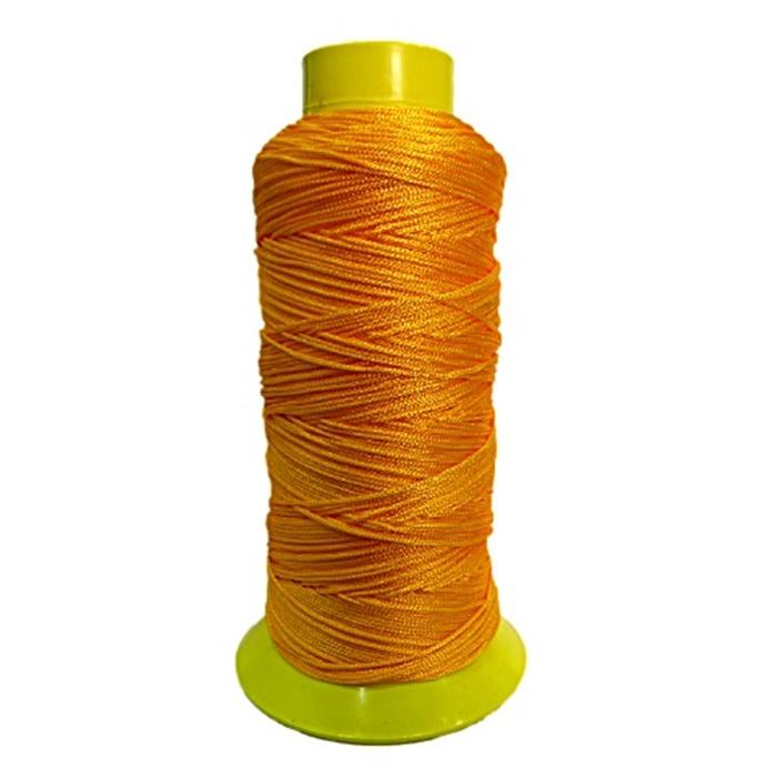 Cordão de seda fino laranja (10mts)- FS011