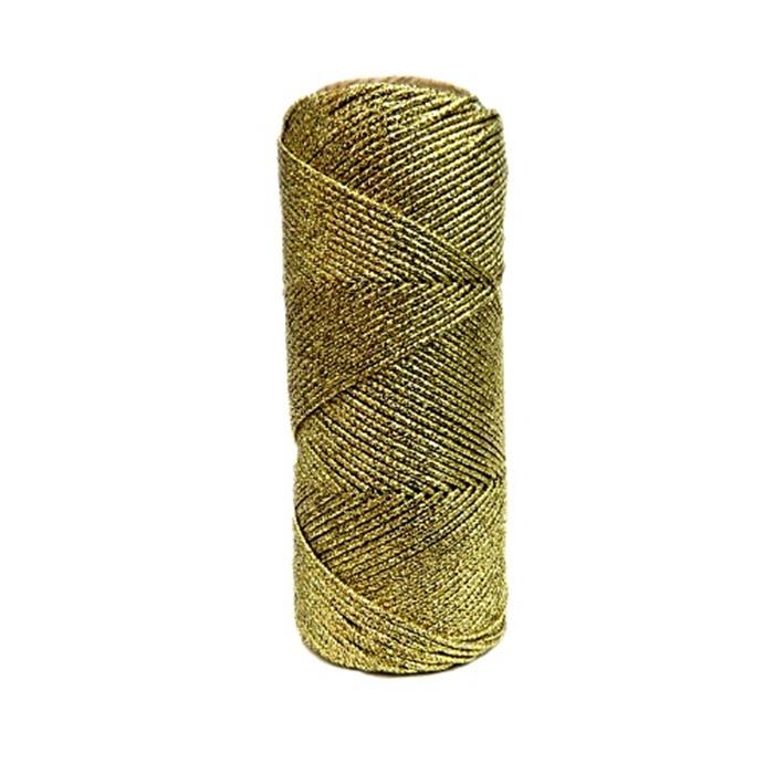 Lurex dourado fino- LX003 ATACADO