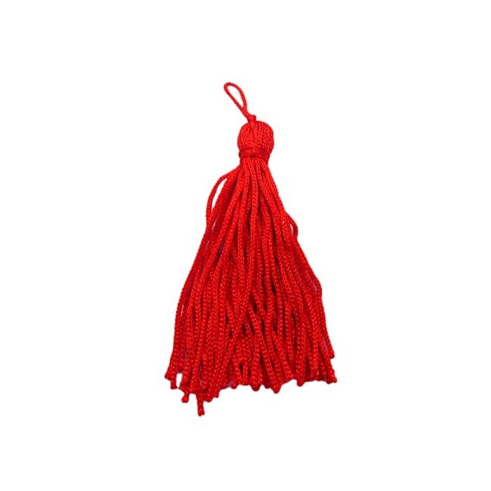 Pingente de seda vermelho (10 unid.)- FRAN009