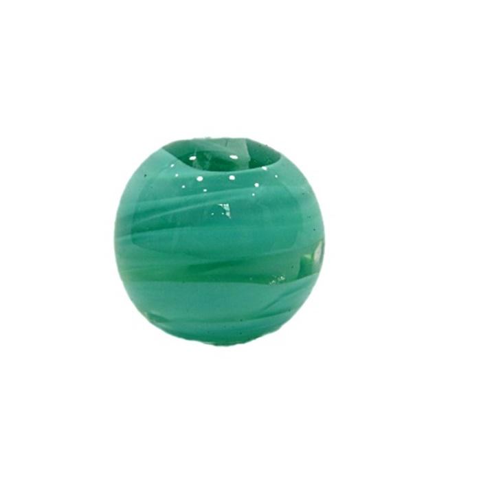 Bola de murano G verde piscina- MU077