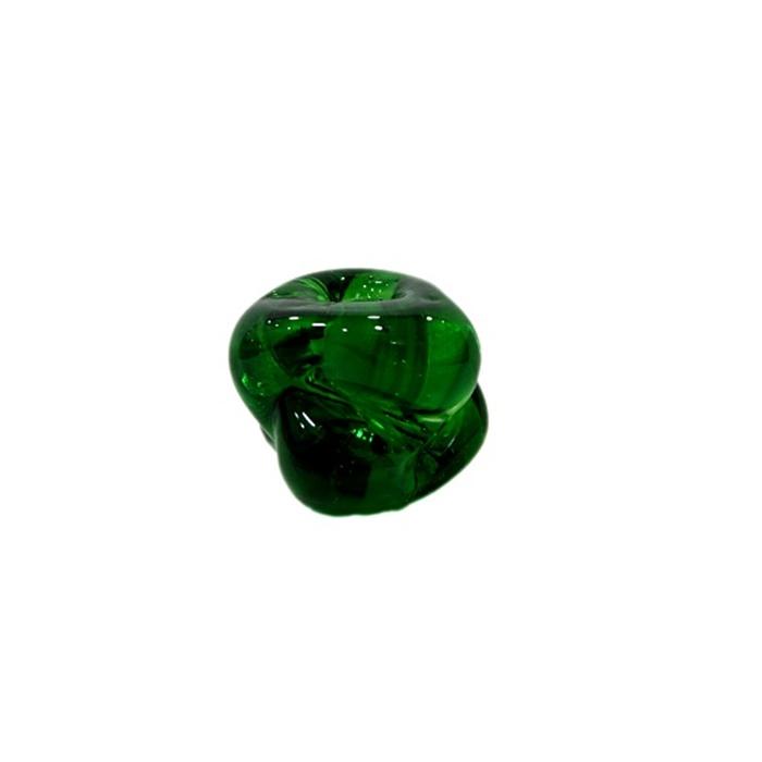 Meteoro de murano G verde cristal- MU249