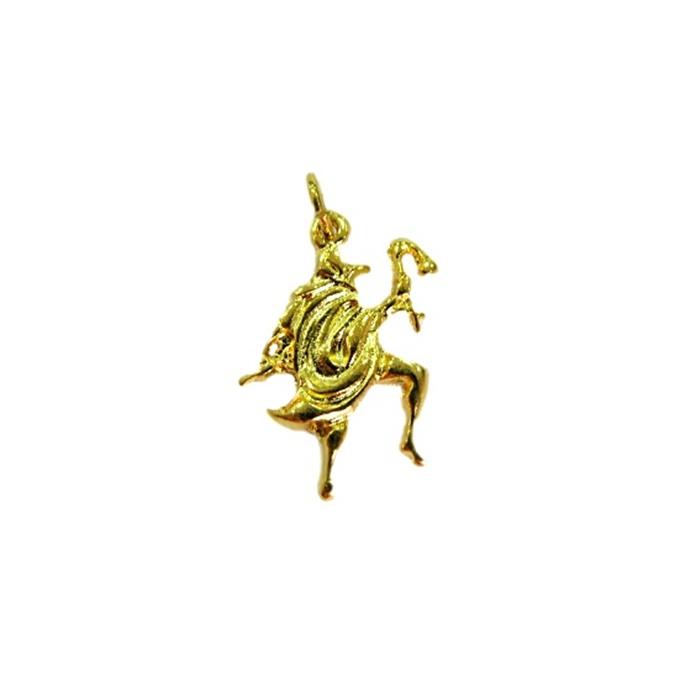 Pingente Exu dourado (orixá)- POD006