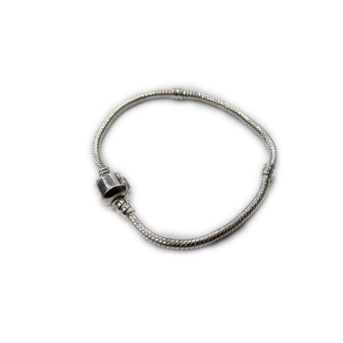 Pulseira Pandora níquel 18 cm - PAN005