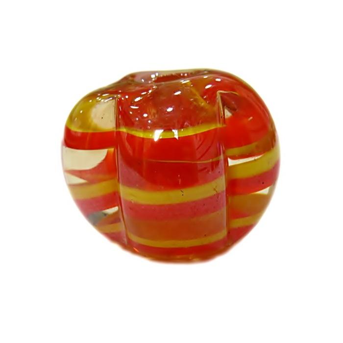 Pitanga de murano GG laranja irisado- MU378