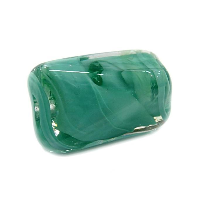 Facetado de murano GG verde �gua- MU517