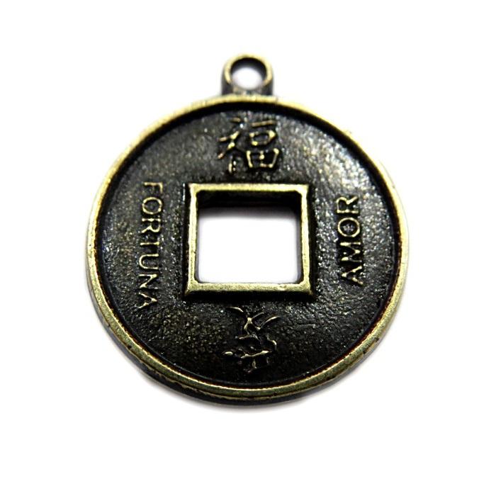 Pingente Ouro Velho Sorte PTO073