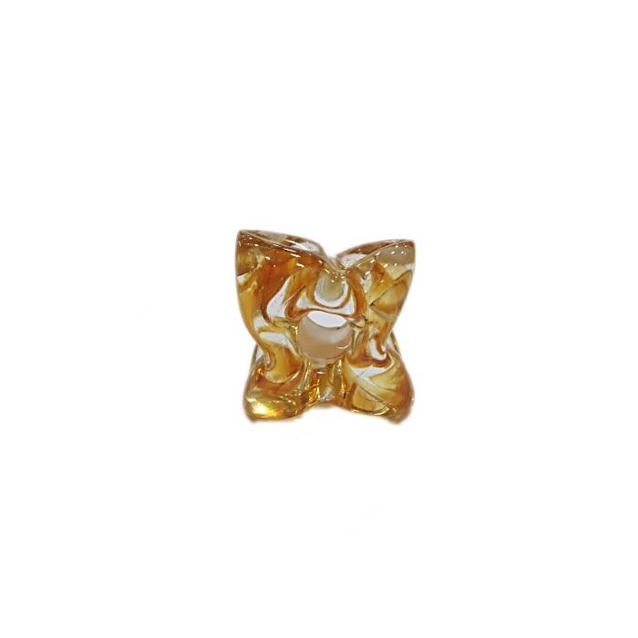 Estrela de murano ambar- MU594