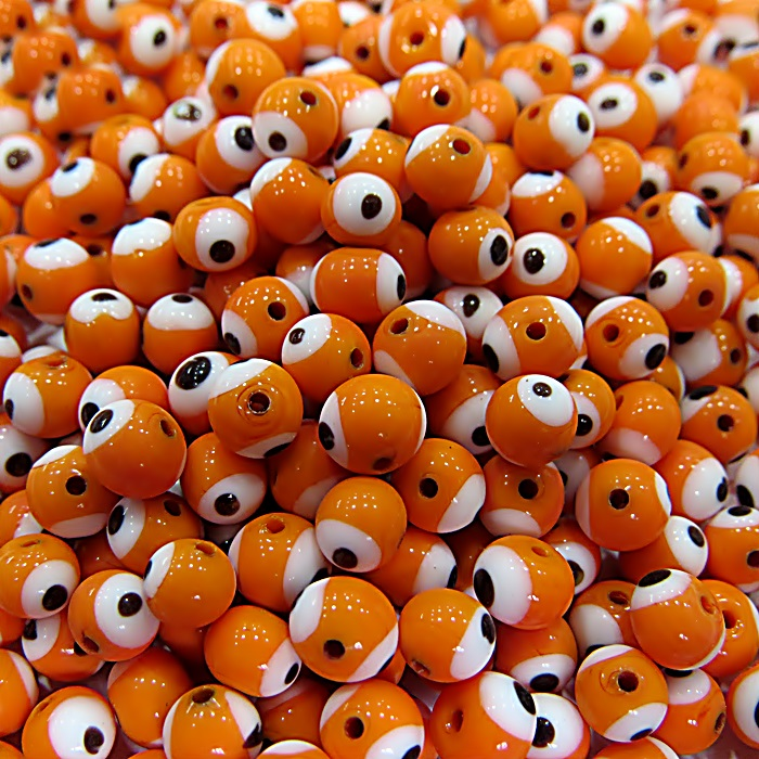 Olho grego laranja Nº 06 (1.000 unidades)- OG003 ATACADO