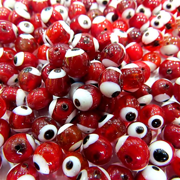 Olho grego vermelho N� 10 (1.000 unidades)- OG050 ATACADO