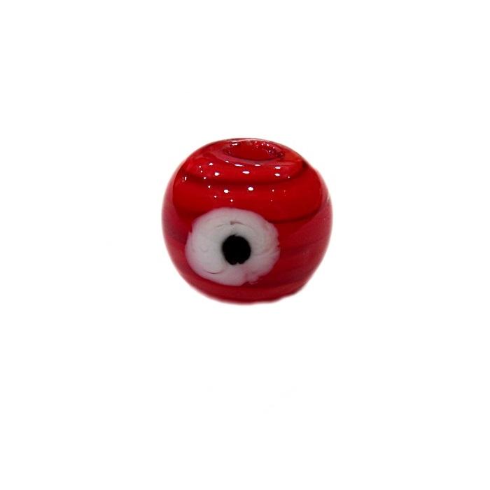 Olho grego M vermelho- OG067