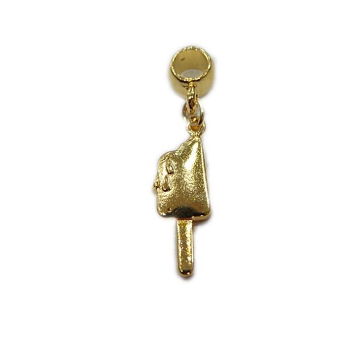 Berloque Dourado Sorvete BED043