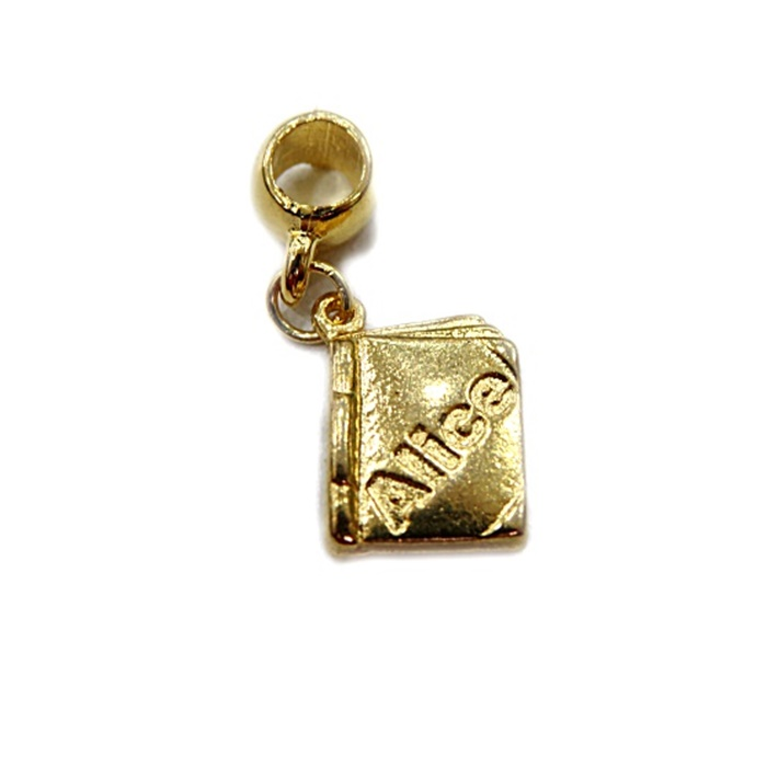 Berloque Dourado Livro BED 044