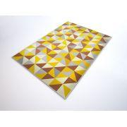 Tapete Saturs Moderno Ladrilho Amarelo 60 x 200 cm Tapete para Sala e Quarto