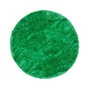 Tapete Saturs Shaggy Pelo Alto Verde Redondo 150 cm Tapete para Sala e Quarto