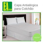 Capa antialérgica para colchão - impermeável - Berço Brasileiro - PVC/TNT - 70x130x10 cm - com ziper