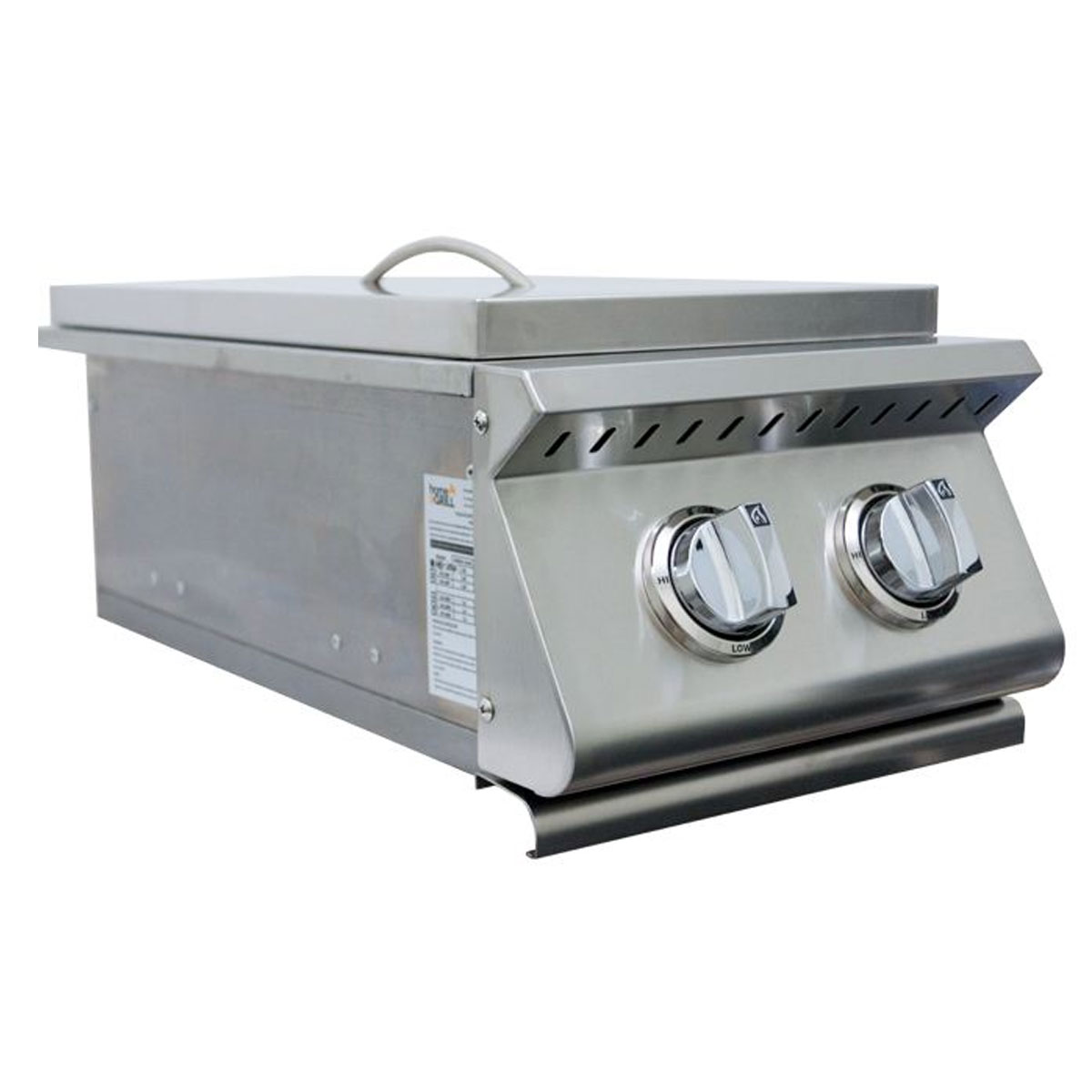 Fogão Lateral Duplo Home & Grill Premium