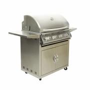 Churrasqueira a Gas Home e Grill Deluxe Premium Com Carrinho - HG-4BC Inox 304