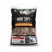 Lascas de Lenha de Madeira Para Defumação Woods Chips Macieira - 1 KG