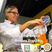 Dólmã Grace Feminina  Acinturada BRANCA em Sarja 100% Algodão (abotoamento de pressão)
