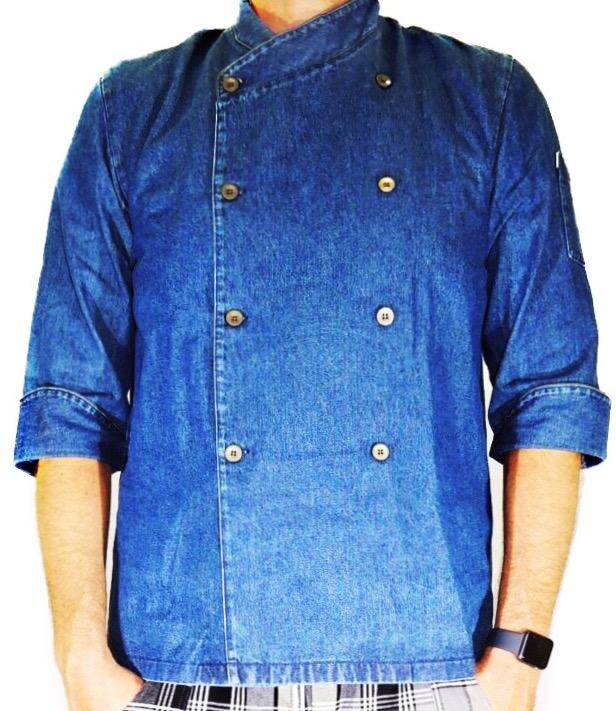 Dólmã Gourmet Unisex  Jeans Estonado