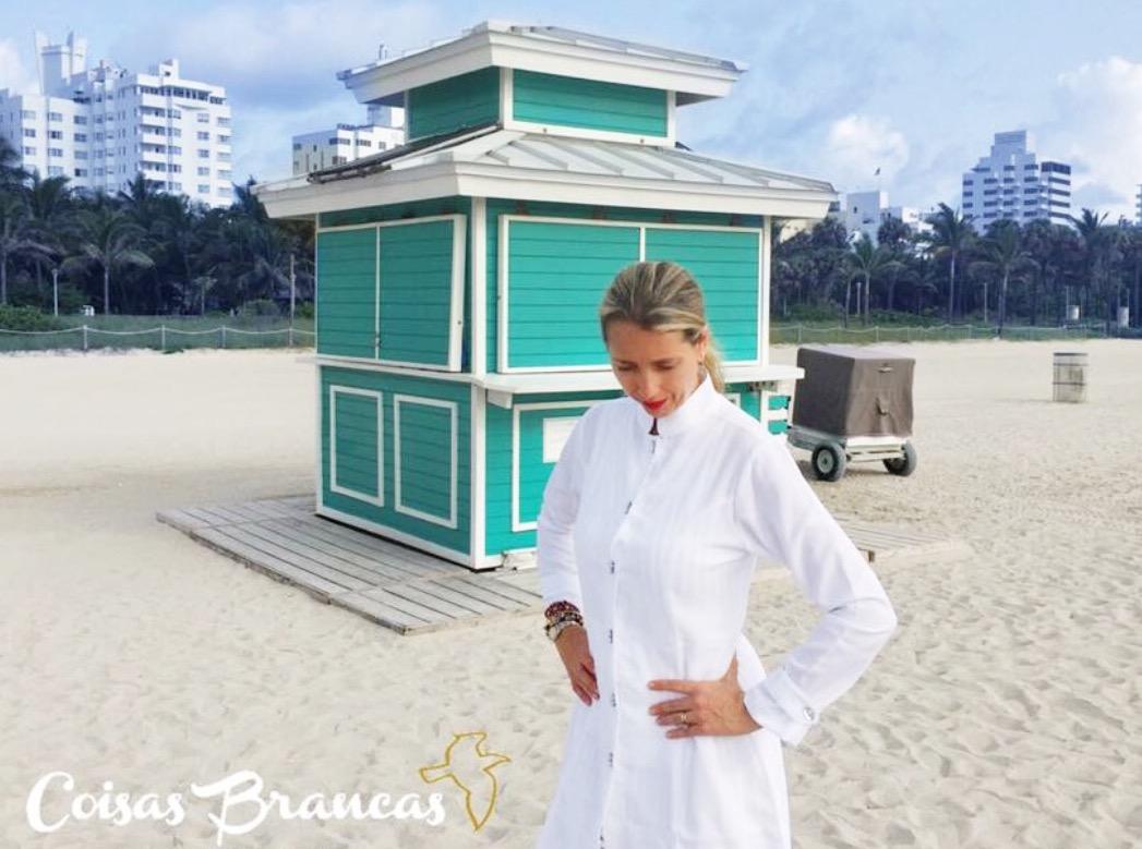 Jaleco Sissi  Dress Feminino Acinturado Botões Swarovski Microfibra