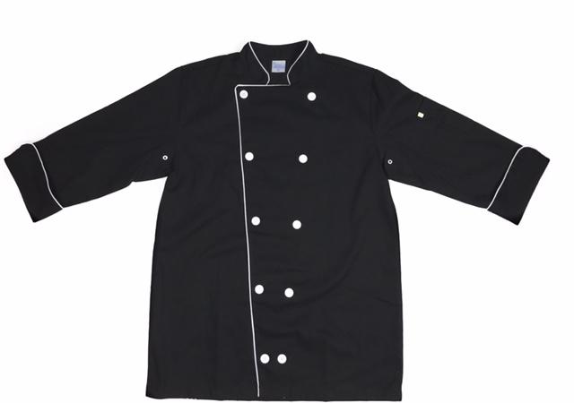 Dólmã Clássico Unissex PRETO INDIAN SKULL COLORIDA com vivo e botões brancos 100% algodão manga 3/4