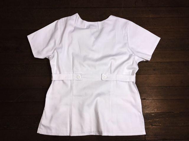 Camisa Scrub Anatomys UNISEX BRANCA  com ajuste para acinturar atrás  100% Algodão
