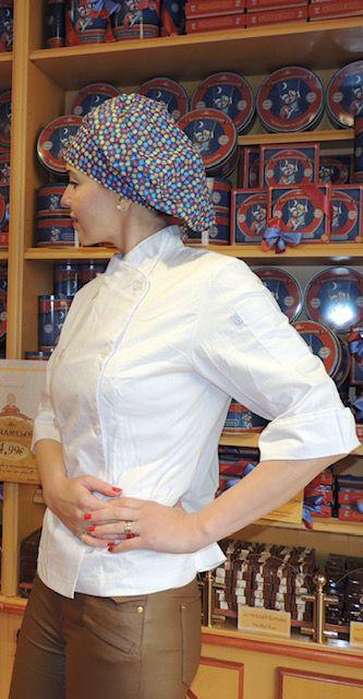 Dólmã Cecília Feminino Acinturado BRANCO com vivo BRANCO e botões BRANCO TRICOLINE 100% algodão