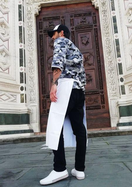 Conjunto Dólmã 90% algodão 10% Elastano  + avental 4 Frentes BRANCO 100%algodão + Calça com elástico total PRETA + chapéu gourmet